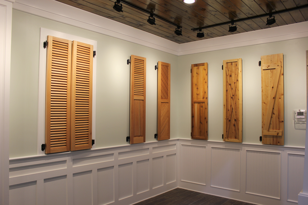 Wood Shutters | Ford Lumber & Millwork Company, Inc.