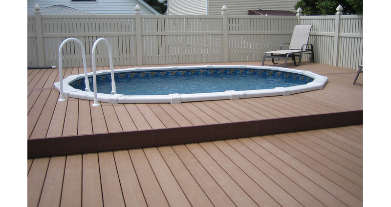 Wood alternative decking gallery ford lumber millwork for Alternative to decking